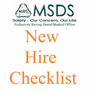 New Hire Checklist for Dentist and Dental Offices